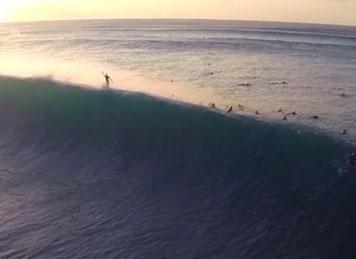 #video | Le meilleur du Surf filmé par un drone