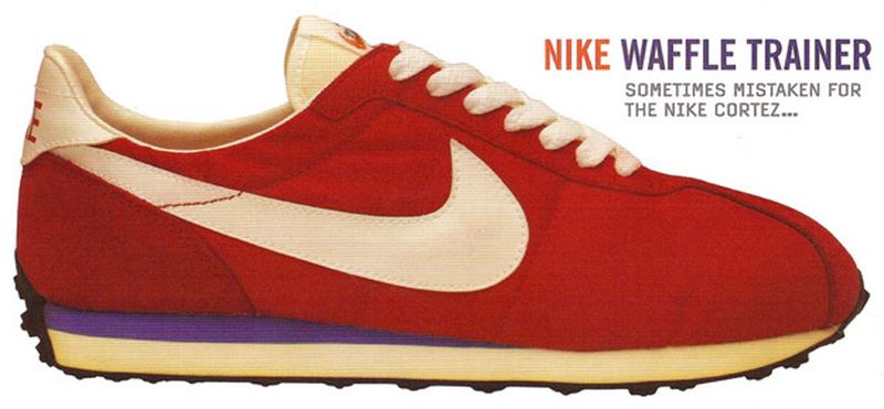 nike waffle trainer - vintage